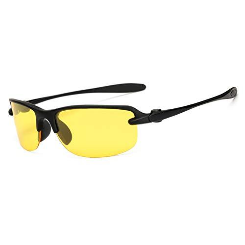 AOCCK Sonnenbrillen,Brillen, Sports Sunglasses Polarized Polaroid Fishing Sun Glasses Goggles UV400 Sports Men Women Sun Glasses For Men De Sol Feminino 1012 C8 Yellow