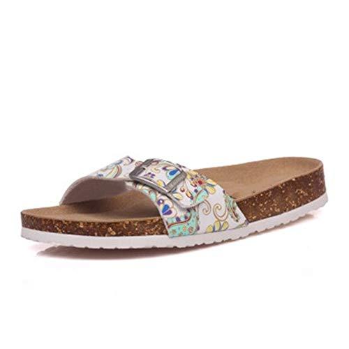 AYHNL Chanclas Estilo Verano Zapatos Mujer Sandalias