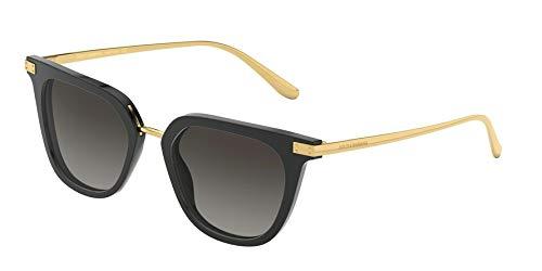Ray-Ban Damen 0DG4363 Sonnenbrille, Mehrfarbig (Black), 50.0