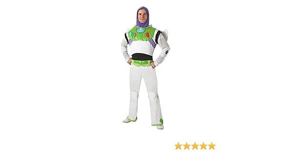Adulto Con Licenza Disney Buzz Lightyear Nuovo Vestito Costume Toy Story BN