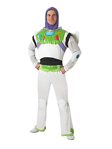 Rubie 's Offizielle Buzz Lightyear Toy Story, Erwachsene Kostüm-Standard - Spielzeug Buzz Lightyear Kostüm