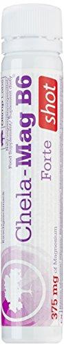 Olimp Chela Mag B6 Forte Shot Kirsche, 20 x 25 ml, 1er Pack (1 x 500 ml Packung)