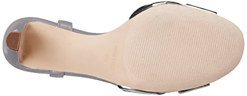 Nine West Durante Synthétique Sandales Silver-Grey
