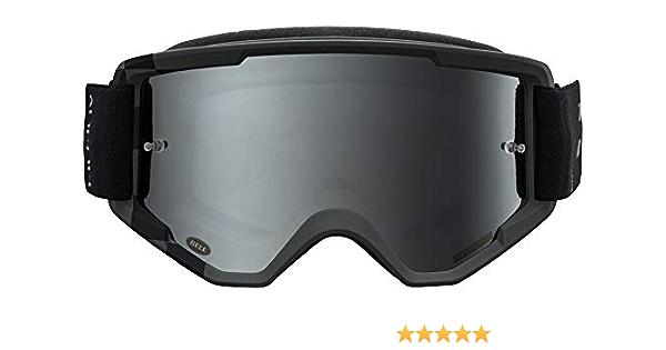 Podium Matte Hi-Viz//Black , Silver Mirror 2020 Bell Descender MTB Goggles