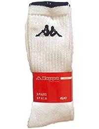 261dc64e81b3d Kappa - Calcetines de deporte - para hombre Blanco Bianco 42 44