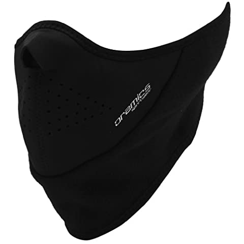 Oramics Sports - Black Thermal Face and Neck Mask - Wind and Cold Weather Protection Neoprene for Sports and Outdoor