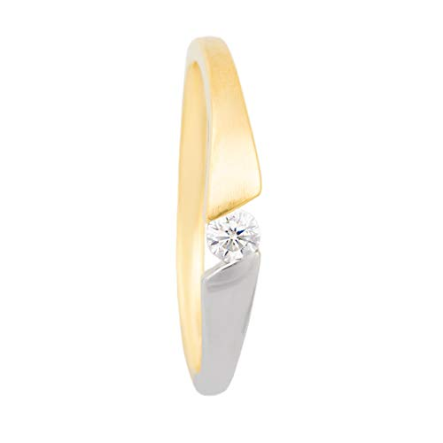Loyal Damen Ring 333 Gold Gelbgold 15 Zirkonia Goldring Cheapest Price From Our Site Uhren & Schmuck Ringe