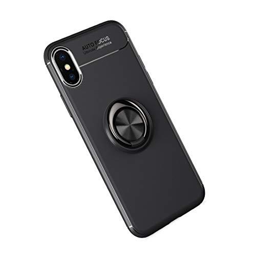 WASAIYE Anwendbar auf Apple iPhone alle Modelle Handy-Fall, 360 ° einstellbare rotierende Umweltschutz Jacke TPU magnetische Smart Phone Bracket Silikonhülle,iPhone6/6S (Apple Iphone6 Silikonhülle)
