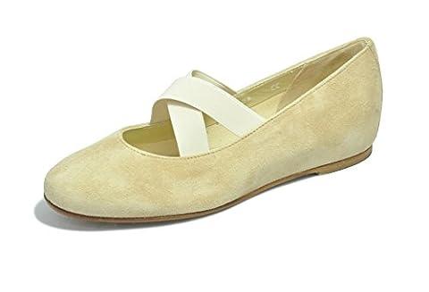 Rosa Marini , Damen Ballerinas , beige - beige - Größe: 38