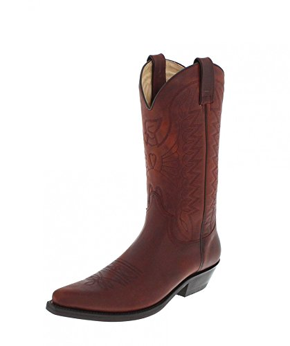 b1450567892f Mayura Boots Stiefel 1920 Braun Westernstiefel