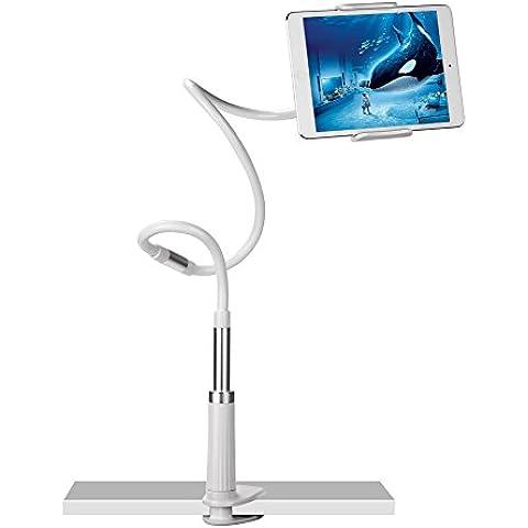 UGREEN Soporte Flexible para Móvil y Tableta de 3.7-10.6 Pulgadas 360 Grados de Rotación Brazo Articulado 60cm-120cm