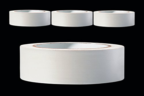 3 x PVC Schutzband glatt 30 mm PROFI Putzband 33 m weiss Putzerband Bautenschutzband Putzer Klebeband Putz Abdeckband