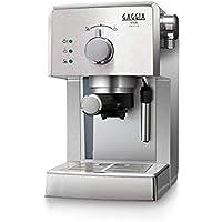 Gaggia Viva Prestige Macchina da Caffè Espresso Manuale, per Macinato e Cialde, RI8437/11