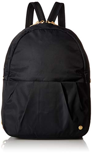PacSafe Citysafe CX Anti-Theft Convertible Backpack Umhängetasche, 34 cm, 8 liters, Schwarz (Black 100)