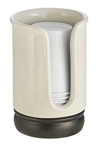 mdesign-dispenser-bicchieri-di-carta-per-ripiani-bagno-vanilla-bronzo