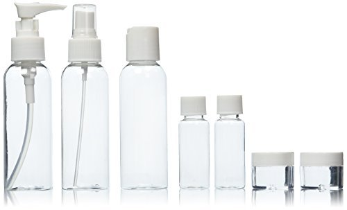 Soft 'N Style 7 Piece Travel Bottle Set