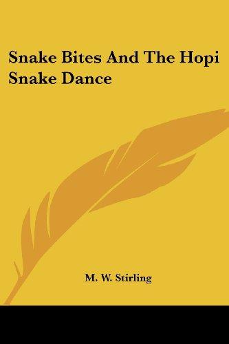 Snake Bites and the Hopi Snake Dance -