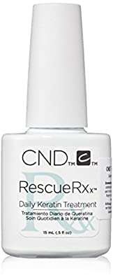 CND Treatments Rescue Rxx Nail Polish, Daily Keratin Treatment 15 ml