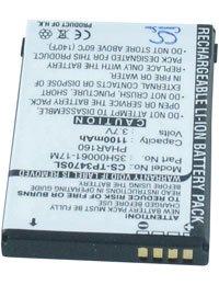 Akku für HTC PHAROS 100, 3.7V, 1100mAh, Li-Ionen