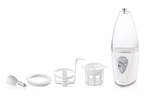 Miniland - Calientabiberones y Esterilizador Warmy Advanced Silver blanco/plata