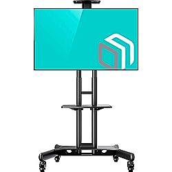 TS15-51 Support TV Pour Des Téleviseurs LCD OLED Plasma De 32 A 65 Pouces Noir