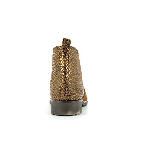Prix marco Tozzi - 2-2-25702-31, Bottes Femme Cognac Combi