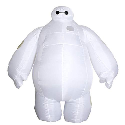 AA Purim Halloween Aufblasbare kostüm Big Hero 6 Baymax Party Cosplay kostüm for männer frauen erwachsene baymax Maskottchen Kostüm SD (Color : Onecolor, Size : - Big Hero 6 Kostüm Für Erwachsene
