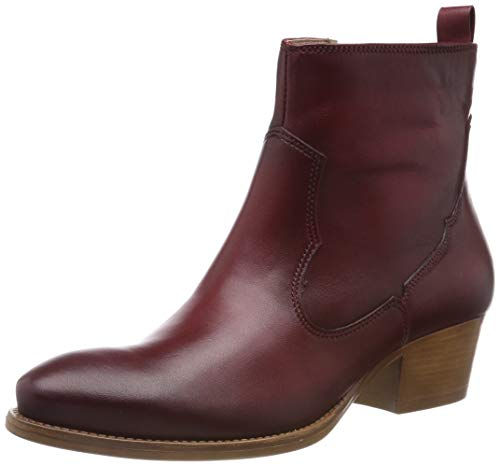Tamaris Damen 1-1-25354-32 Stiefeletten, Rot (Red 500), 41 EU (Leder Stiefel Damen Cowboy)