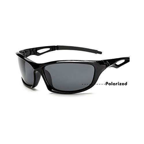 Sportbrillen, Angeln Golfbrille,NEW Arrival Men's Sunglasses Car Drivers Night Vision Goggles Anti-Glare Yellow Sun Glasses Women Driving Glasses Oculos bright black