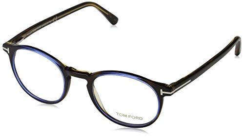 Tom Ford Herren Ft5294 Brillengestelle, Braun (AVANA/ALTRO), 48