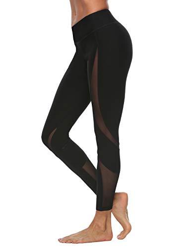 Lulupi Leggings Donna Fitness Vita Alta Pantaloncini Donna Sportivi Eleganti Sopra Il Ginocchio Corti Elasticizzati Yoga