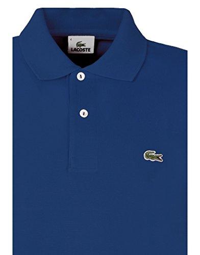 Lacoste Herren Polo-Classic Herren Premium Polo Shirt–Ink Blau Blau