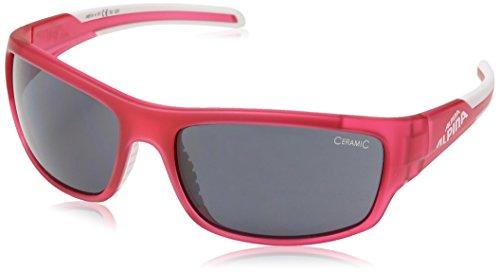 Alpina Sonnenbrille Amition TESTIDO Sportbrille Berry/Matt White, One Size