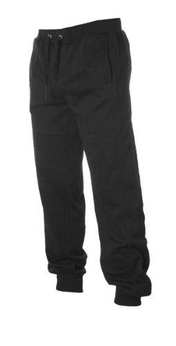 Urban Classics -  Pantaloni sportivi  - Basic - Uomo nero Large