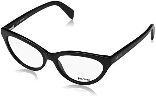 Just Cavalli Damen Brille JC0716 001 54 Brillengestelle, Schwarz,