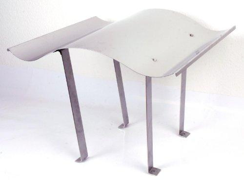 Preisvergleich Produktbild Schornsteinabdeckung 75x70cm, starr, Edelstahl Gr. 3 (500mm) (Kaminhaube Kaminabdeckung Schornsteinhaube Regenhaube)
