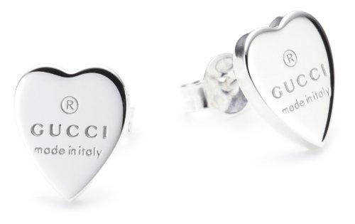 Gucci Damen-Ohrringe Trademark Herz YBD223990001