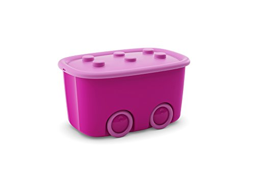 Kis funny box l - 58x38,5x32h rosa