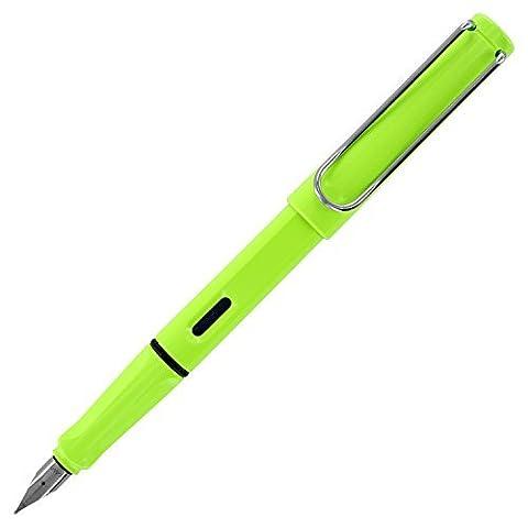 Lamy Safari Fnt Pen Fine Neon Lime Sp Ed by Lamy