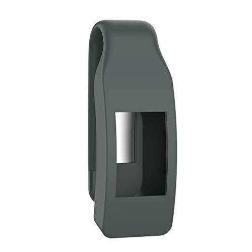 VvXx Schutzhülle für Fitbit Isnpire/Isnpire HR Tracker, aus Metall und Stahl, grau -