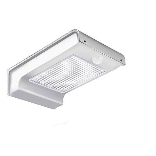72 LED Super Bright Motion Sensor Sicherheitsleuchten, Solar betriebene Sicherheitsleuchten mit Weitwinkel Beleuchtung, modernisierte Weitwinkel-Sensorkopf, IP65 wasserdicht für Garten, Garage, Weg und Terrasse,