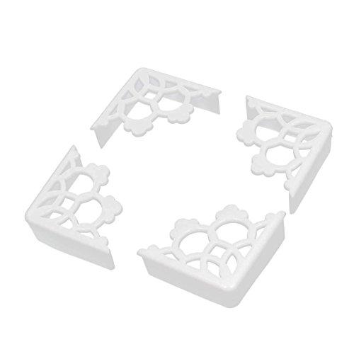 Einweg-arbeitsplatte (TININNA 8 Stück Baby Gummi Tisch Eckenschutz Kantenschutz Stoßschutz Kinderschutz Baby Sicherheit weiß EINWEG Verpackung)