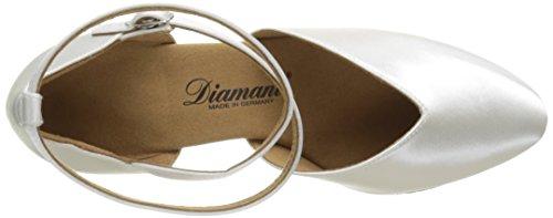 Diamant - Diamant Brautschuhe Standard Tanzschuhe 105-068-092, Scarpe Da Ballo - Standard & Latino da donna Bianco (Bianco)