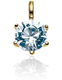 Rafaela Donata Glossy Collection Damen-Anhänger vergoldet mit original Swarovski Elements Crystal (ohne Kette)  60836016