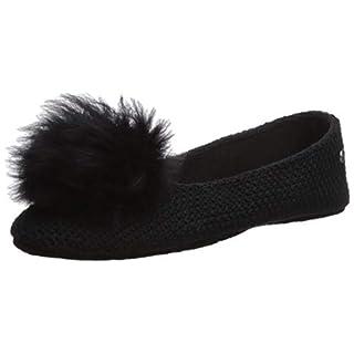 Women's Shoes UGG Black Andi Ballet Slipper Fall Winter 2019