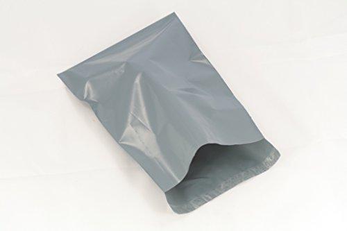 (100Stück) grau 35,6x 45,7cm 355x 470mm, Versandtaschen Poly Post Kunststoff Versandtaschen Versand Staubbeutel Mail Verpackung Paket selbst Seal Umschlag - Seal Poly Selbst Versandtaschen