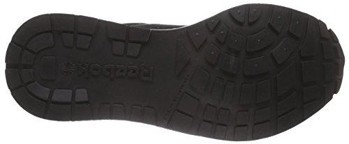 Reebok Gl 6000 Hm, Chaussures de Course Garçon Noir - Schwarz (Black/White/Carbon)