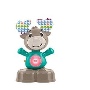 Fisher-Price Alce Linkimals, Juguete interactivo bebés +9 meses (Mattel, GJB23)