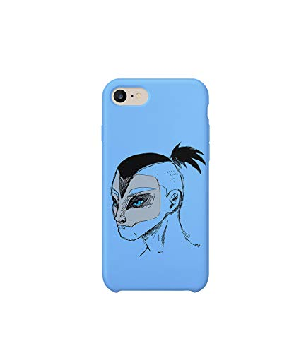GlamourLab Avatar The Last Airbender Sokka Face Illustration_A1264 Handyhulle Handyhülle Schutz Hülle Kompatibel mit Protective Case Cover for iPhone 6 / iPhone 6s Gift Christmas