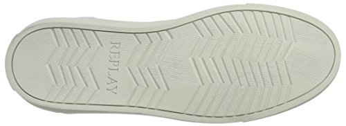 Replay Moon, Baskets Hautes Homme Weiß (White)